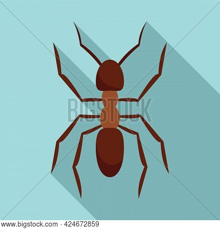 Pest Ant Icon. Flat Illustration Of Pest Ant Vector Icon For Web Design
