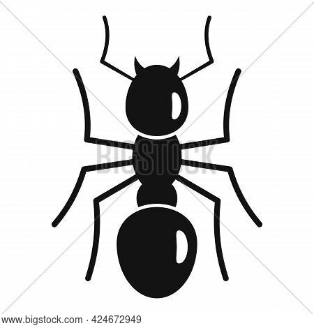 Team Ant Icon. Simple Illustration Of Team Ant Vector Icon For Web Design Isolated On White Backgrou