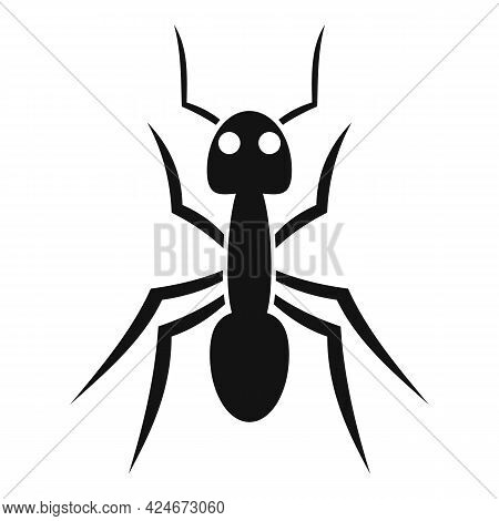Fauna Ant Icon. Simple Illustration Of Fauna Ant Vector Icon For Web Design Isolated On White Backgr