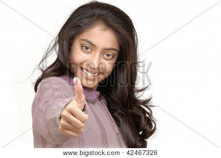 pretty Indian girl