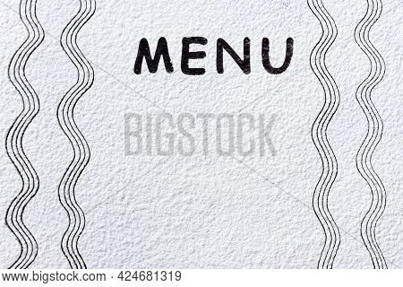 White Flour, Sand, Powder Texture On Dark Table. Baking, Cooking Food Meal Background. Top View, Cop