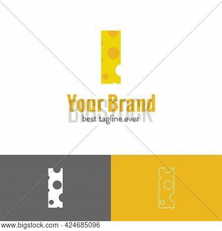 Creative Line Of Hippo Shape Logo Template