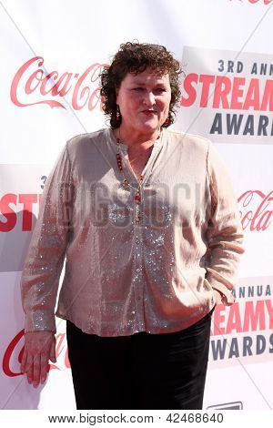 LOS ANGELES - FEB 17:  Dot Marie Jones arrives at the 2013 Streamy Awards at the Hollywood Palladium on February 17, 2013 in Los Angeles, CA