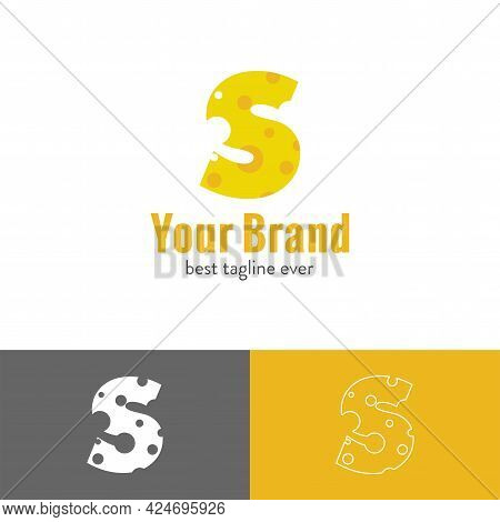 Three Kinds Of Cheese Blended With Initial Letter