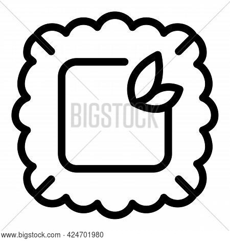 Ravioli Ingredient Icon. Outline Ravioli Ingredient Vector Icon For Web Design Isolated On White Bac