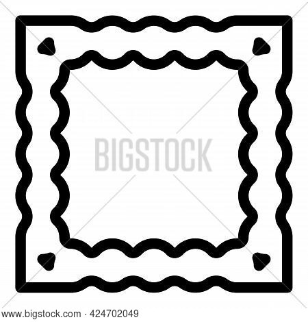 Ravioli Cooking Icon. Outline Ravioli Cooking Vector Icon For Web Design Isolated On White Backgroun