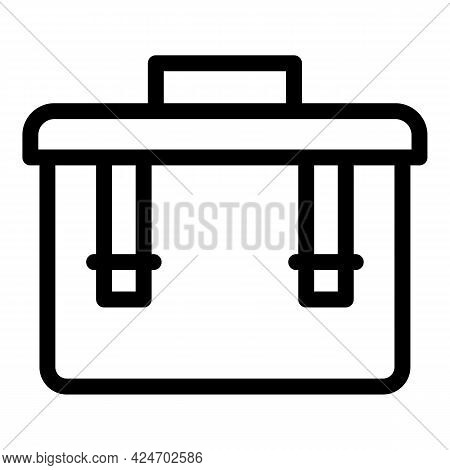 Expedition Box Icon. Outline Expedition Box Vector Icon For Web Design Isolated On White Background