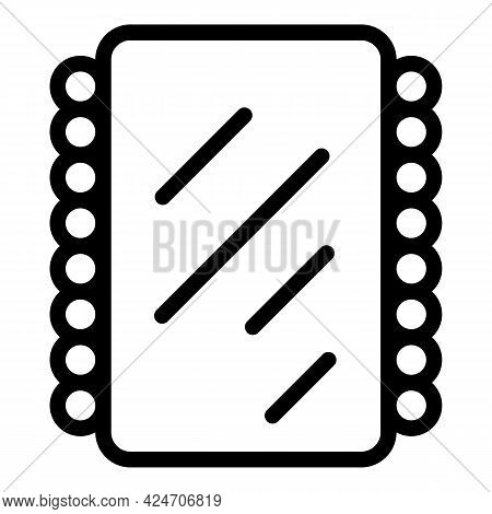 Hair Styling Tools Icon. Outline Hair Styling Tools Vector Icon For Web Design Isolated On White Bac