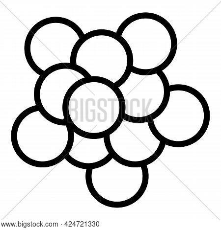 Lentil Garden Icon. Outline Lentil Garden Vector Icon For Web Design Isolated On White Background