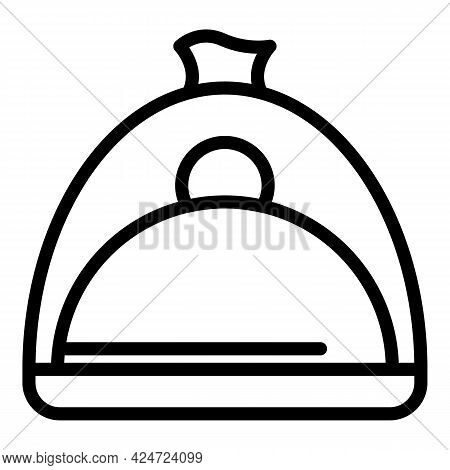 Take Away Food Pot Icon. Outline Take Away Food Pot Vector Icon For Web Design Isolated On White Bac