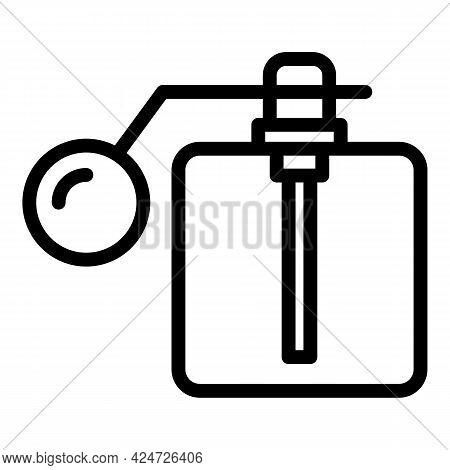 Spray Bottle Perfume Icon. Outline Spray Bottle Perfume Vector Icon For Web Design Isolated On White