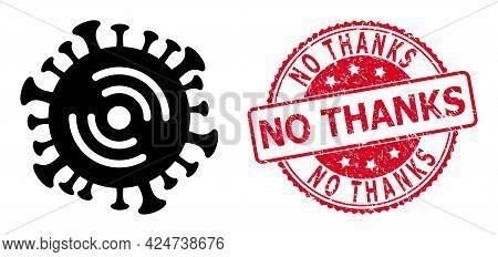 Wi-fi Virus Icon On A White Background. Isolated Wi-fi Virus Symbol With Flat Style.