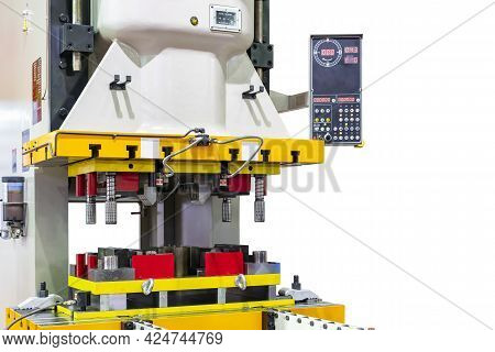 Automatic Hydraulic Press Stamping Machine With Press Mold Or Die Fixture For Metal Sheet Forming In