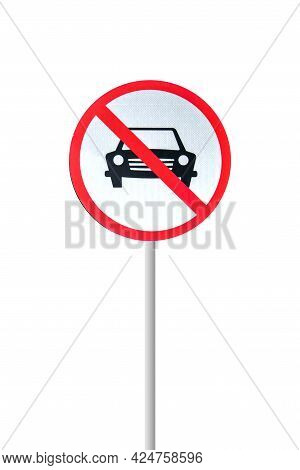 Prohibition Sign On A White Background Prohibition Sign On A White Background