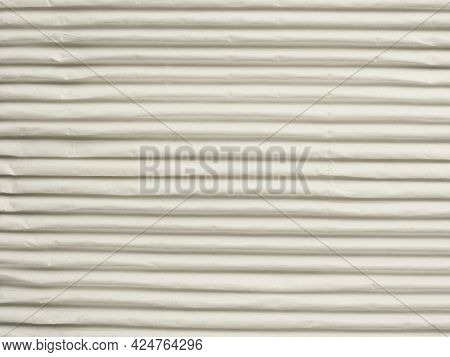 Wavy Paper Texture Using As Background, Stripy Backdrop