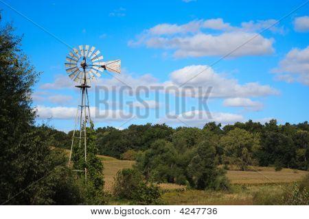 Windmill At Work