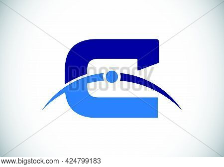 Initial C Letter Logo With Creative Modern Business Typography Vector Template. Earth\'s Atmosphere