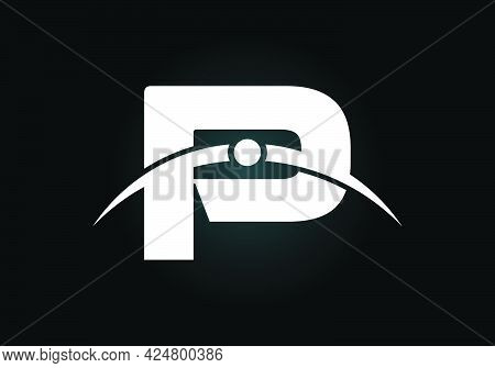 Initial P Letter Logo With Creative Modern Business Typography Vector Template. Earth\'s Atmosphere