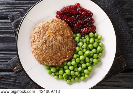 Wallenbergare Is A Swedish Dish Generally Consisting Of Ground Veal Is Traditionally Served With Boi