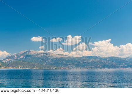 Beautiful Seascape Of Greece On A Sunny Day