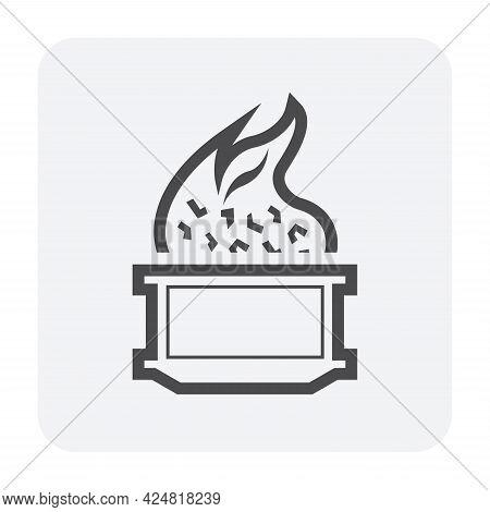 Ore Burn Icon