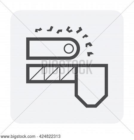 Ore Production Line Icon