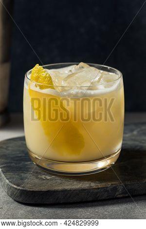 Boozy Refreshing Scotch Sour