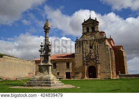 Soria, Spain - 26 September 2012: Old Hermitage Dedicated To San Saturio In Soria.