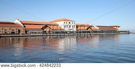 Buildings In Izmir Pier In Izmir City, Turkey