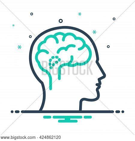 Mix Icon For Hypothalamus Endocrine Brain Cerebellum Medical Anatomy