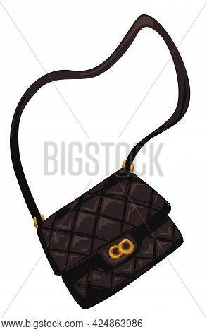 Fashionable Clutch With Strap Or Women Handbag