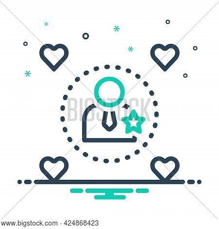 Mix Icon For Influencers Impressive Influential Effective Efficacious Imposing