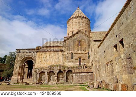 Side View Of Church Of St. Paul And Peter (surb Pogos Petros) In Tatev Monastery, Historic Place In