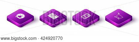 Set Isometric Consumer Or Customer Product Rating, Warranty Certificate Template, Online Shopping Ph