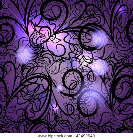 Abstract Violet Seamless