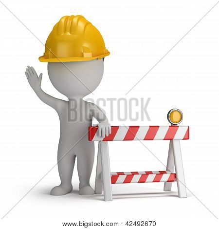 3D Small People - Under Construction