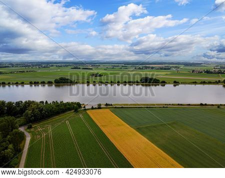 Danube River And Its Old Waters Are Photographed In Bavaria