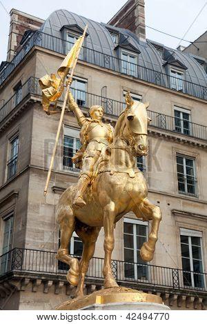 Joan Of Arc Statue, Place Des Piramides, Paris, Ile De France, France