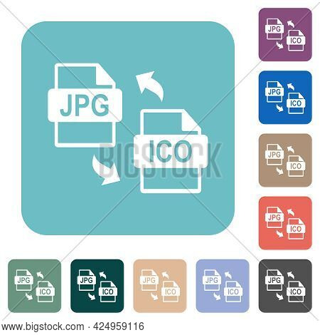 Jpg Ico File Conversion White Flat Icons On Color Rounded Square Backgrounds
