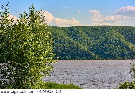 With Pleasure View From The Shore To The Latitude Of The Amur River