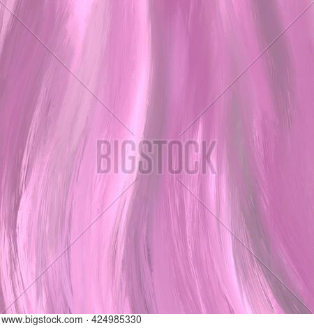 Abstract Pink Watercolor Background, Hand-painted Textures With Paint, The Strokes, The Stripes.
