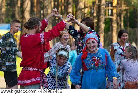 Novokuznetsk. Russia. June 19, 2021.  The Festival Of Traditional Culture \