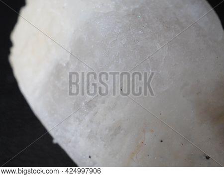 Close Up Shoot Of White Gemstone
