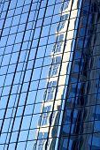 Mirroring and Reflection effect - Architectonics detail Tampa Florida USA poster