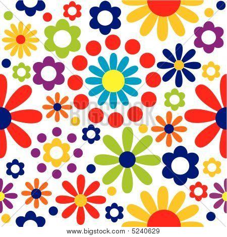 Spring Floral Tile