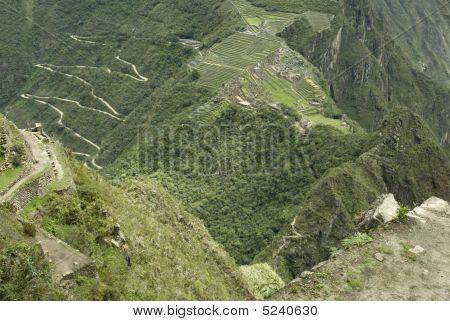 Machu Picchu Aerial View