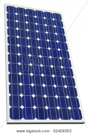 Solar Cell Isolated with Clipping Path