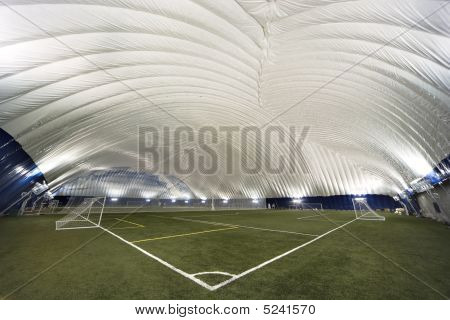 New Sports Dome Interior - Corner View