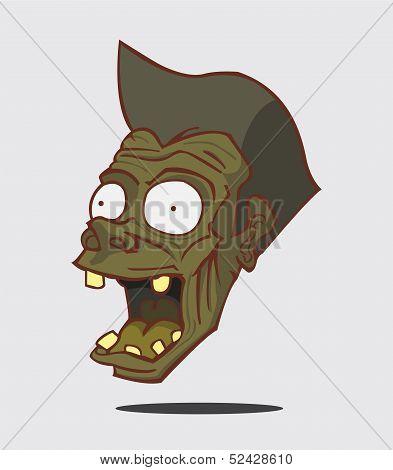 Zombie. Halloween Monster
