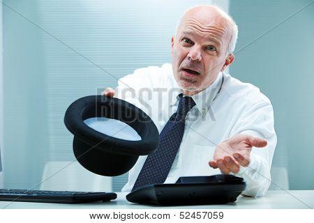 Give Me A Handout I'ma Poor Businessman!